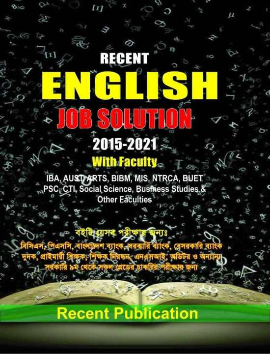 Recent English Job Solution 2015-2021 With Faculty